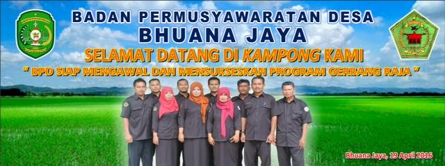 BPD Desa Bhuana Jaya Kec. Tenggarong Seberang Kab. Kukar